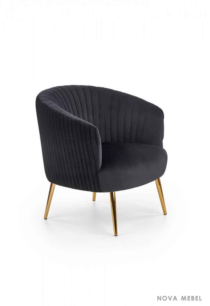 Кресло CROWN HALMAR черный