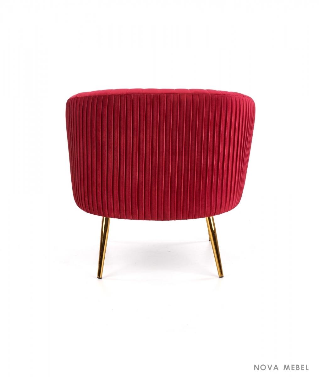 Кресло CROWN HALMAR бордовый