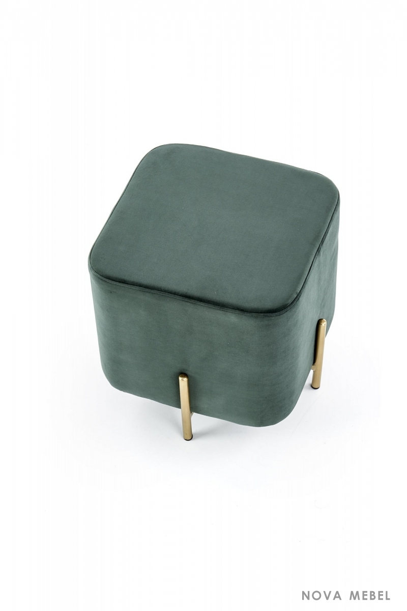 Пуф CORNO HALMAR темно-зеленый