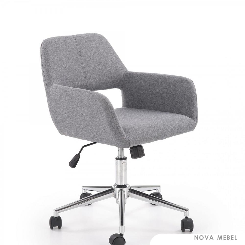 Кресло офисное MOREL HALMAR серый